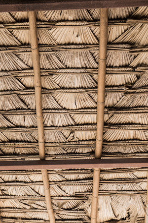 Thai style native roof, Thailand. photo