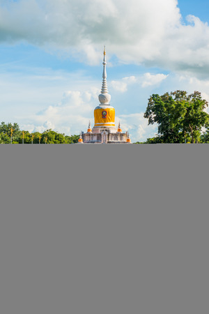 dun: Na Dun pagoda at Maha Sarakham province, Thailand