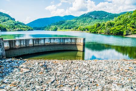 lang: Landscape of Mae Ping Ton Lang Dam, Thailand.
