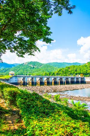 ton: Landscape of Mae Ping Ton Lang Dam, Thailand.
