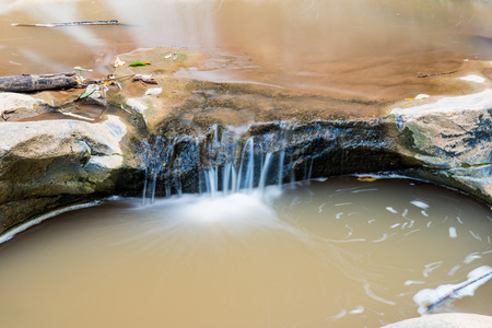 water flowing: Water Flowing in Thai Forest, Thailand.