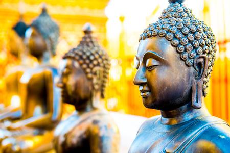 buddha statue: Ancient Buddha Statue in Thai, Thailand