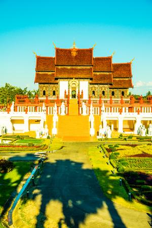 royal: Royal Pavilion in Royal Park Rajapruek, Thailand