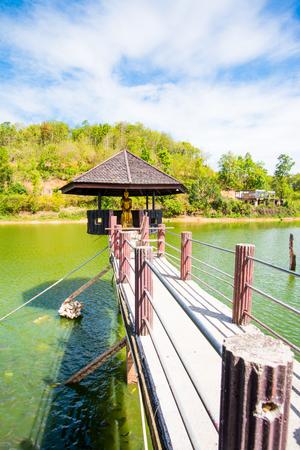 chiangrai: Lake View of Wangmajshar at Chiangrai, Thailand