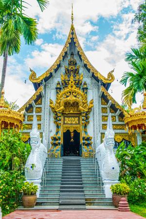 vihara: The Grand Vihara of Darabhirom Forest Monastery at Chiangmai Province, Thailand.