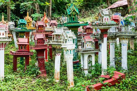thai style: Thai style spirit house, Thailand Stock Photo