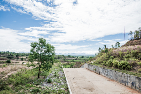 spillway: Spillway of Reservoir, Thailand