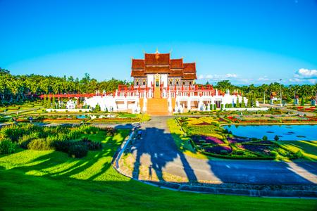royal park: Royal Pavilion in Royal Park Rajapruek, Thailand
