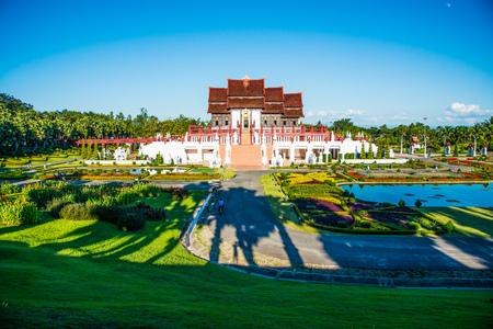 Royal Pavilion in Royal Park Rajapruek, Thailand