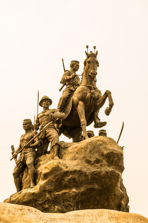 king of thailand: The Monument of King Naresuan, Thailand