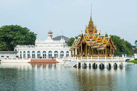 Grand Throne Hall at Bang Pa-In Palace, Thailand. Editorial