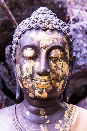 buddha statue: Buddha statue with natural background, Thailand