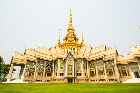 ratchasima: Beautiful Buddhist Sanctuary at Nakhon Ratchasima Province, Thailand Editorial