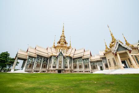 ratchasima: Beautiful Buddhist Sanctuary at Nakhon Ratchasima Province, Thailand Stock Photo