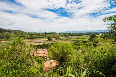 chiangrai: Country view at Chiangrai province, Thailand