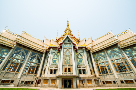 nakhon: Beautiful Buddhist Sanctuary at Nakhon Ratchasima Province, Thailand Editorial