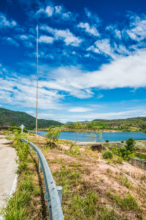 doi: Landscape View of Doi Ngu Reservoir, Thailand