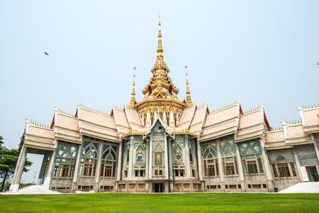 nakhon: Beautiful Buddhist Sanctuary at Nakhon Ratchasima Province, Thailand Stock Photo