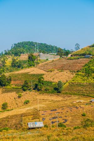 Thai mountain view, Thailand Stock Photo