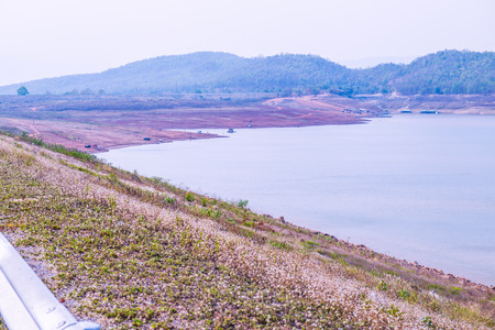 hydroelectric station: Landscape view of Mae Ngat Somboon Chon dam, Thailand