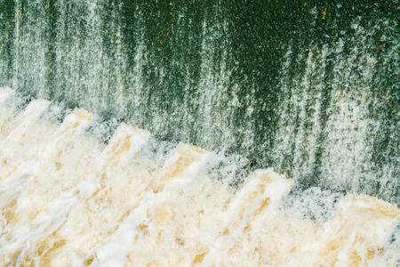 foaming: Background of water flowing, Thailand.