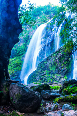 klong: Klonglan waterfall in national park, Thailand. Stock Photo