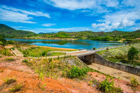 Landscape View of Doi Ngu Reservoir, Thailand