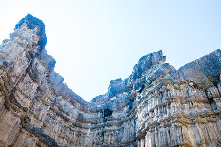 Pha Chau at Mae Wong national park in Thai, Thailand. Stock Photo