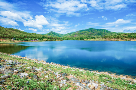 Landscape View of Doi Ngu Reservoir, Thailand