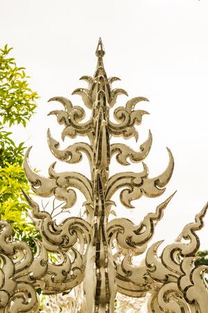 Modern Thai stucco at the temple, Thailand.