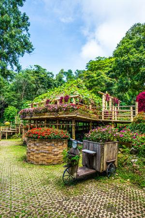 View of Mae Fah Luang Garden, Thailand. Stock Photo