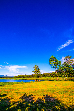 Landscape View of Mae Puem National Park, Thailand. Stock Photo