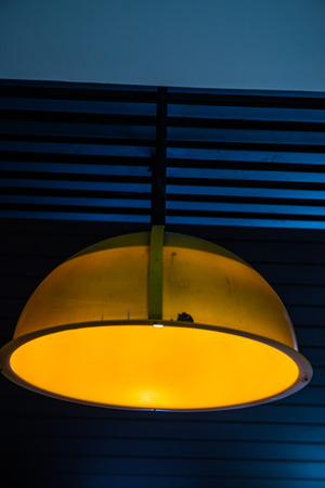 Yellow lamp, Thailand.