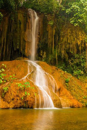 beautiful location: Phu Sang waterfall at Phayao province, Thailand.