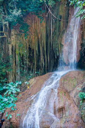 phu: Phu Sang waterfall at Phayao province, Thailand.