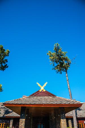 Doi Pha Tang Palace at Doi Inthanon National Park, Thailand. Editorial