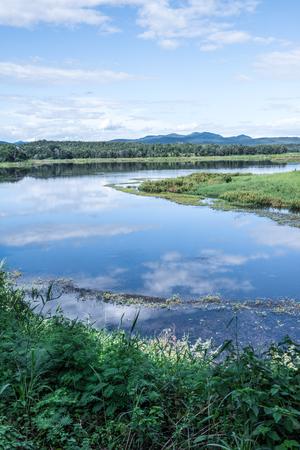 Landscape View of Mae Puem Reservoir, Thailand