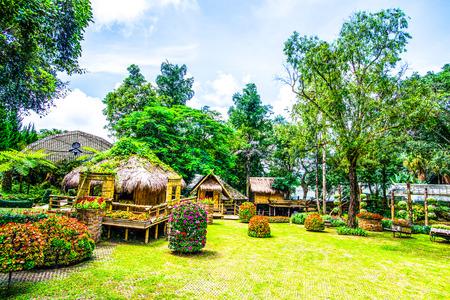View of Mae Fah Luang Garden, Thailand. Imagens