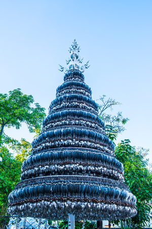 pipal: Pipal leaf for worship, Thailand. Stock Photo