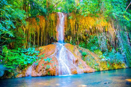 Phu Sang waterfall at Phayao province, Thailand.