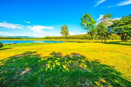 Landscape View of Mae Puem National Park, Thailand. Stock Photo