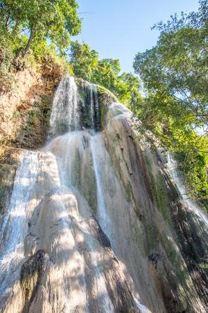 wonderful thailand: Tad Mok waterfall at Phayao province, Thailand.