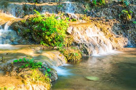 wonderful thailand: Water flowing at Tan Tong waterfall, Thailand.