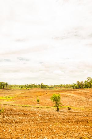 Natural view at Chiangmai province, Thailand.