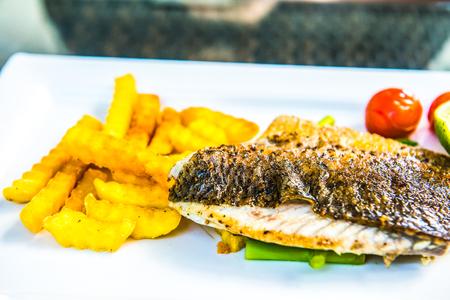 Fish steak, Thailand.
