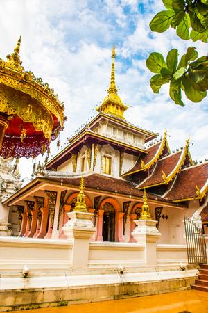 Phra Chao Than Jai Mondop of Darabhirom Forest Monastery at Chiangmai Province, Thailand.