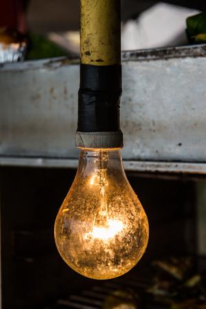 electric fixture: Lighting lamp, Thailand.