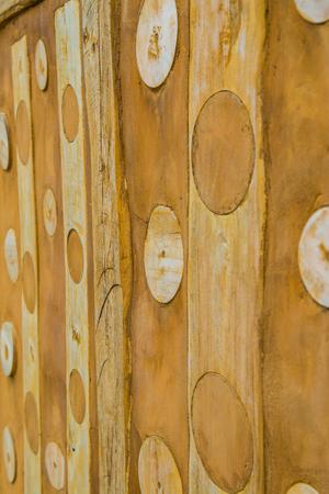 tough: Modern art wall, Thailand.