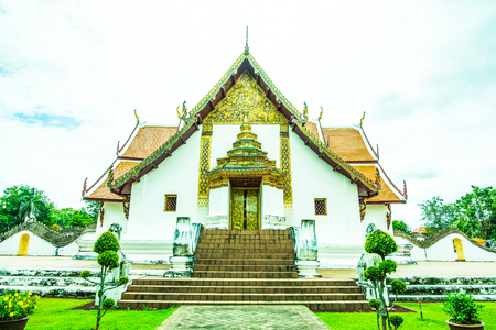 Phumin temple in Nan province, Thailand. Stock Photo