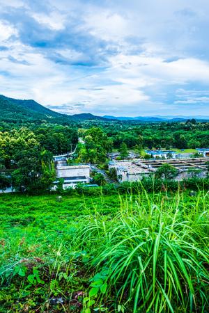 Ландшафтный вид Маа Куанг Удом Тара, Таиланд.